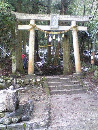 金持神社の鳥居