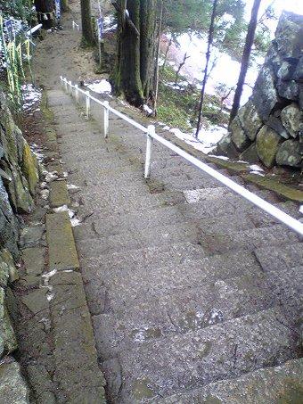 金持神社の階段